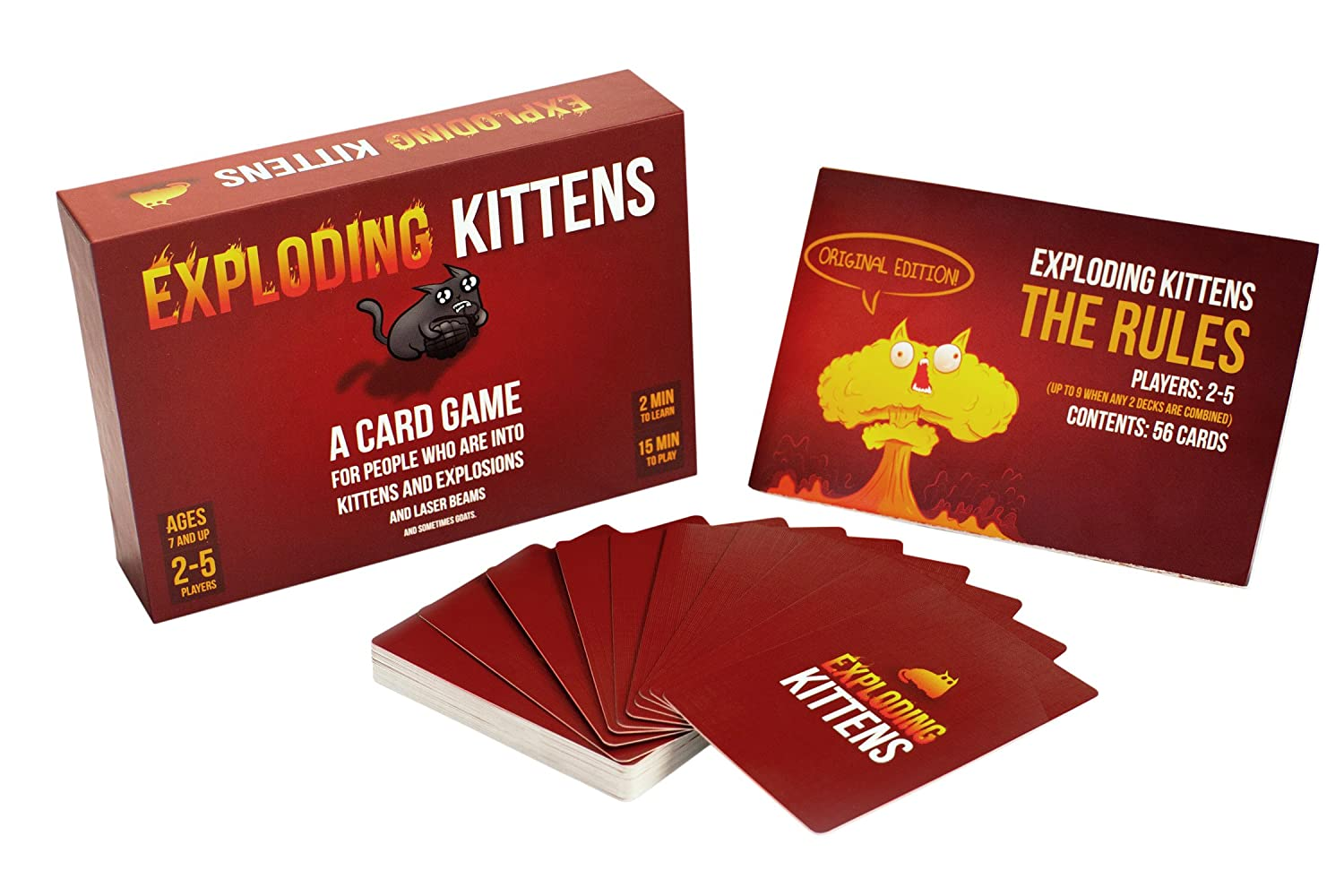 Exploding Kittens Card Game ON...