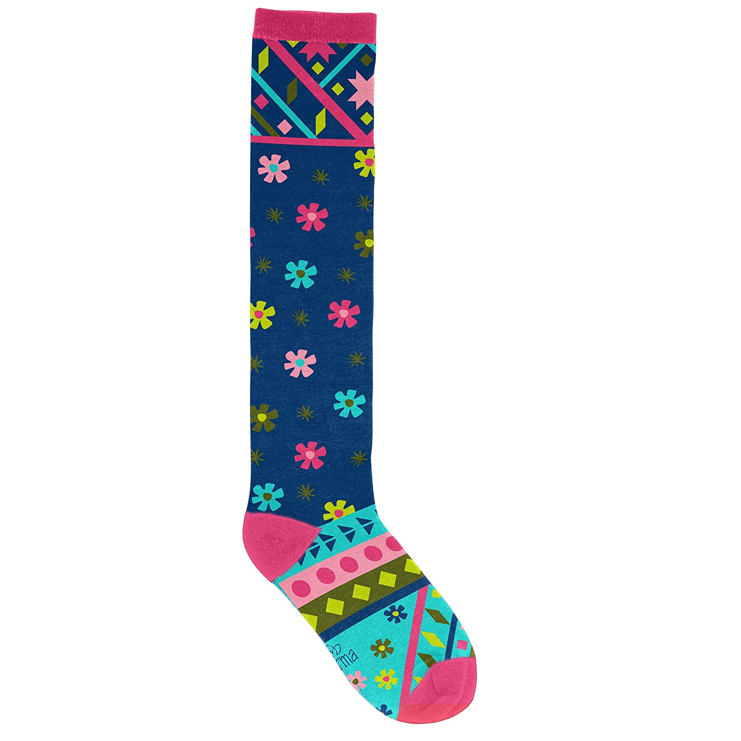 ace74f015 Amazon.com  Karma Gifts Knee High Socks Llama  Home   Kitchen