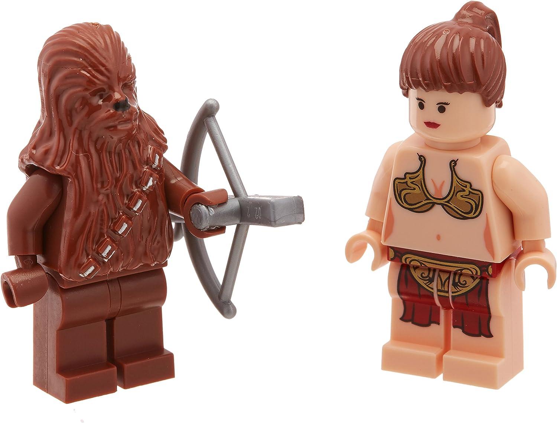LEGO Set of 2 New Without Box Star Wars Chewbacca /& Princess Leia Mini Figs
