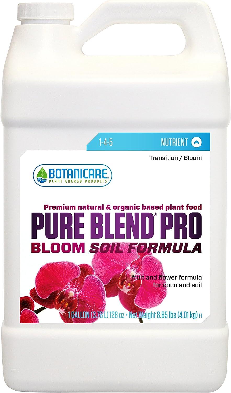 Botanicare PURE BLEND PRO Bloom Soil Nutrient 1-4-5 Formula, 1-Gallon