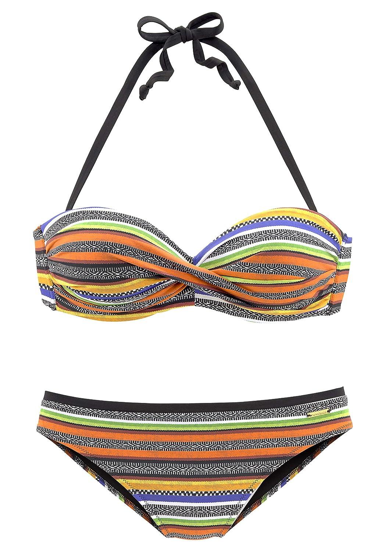 42 BRUNO BANANI Damen Bügel-Bikini Gr 85 CUP E NEU