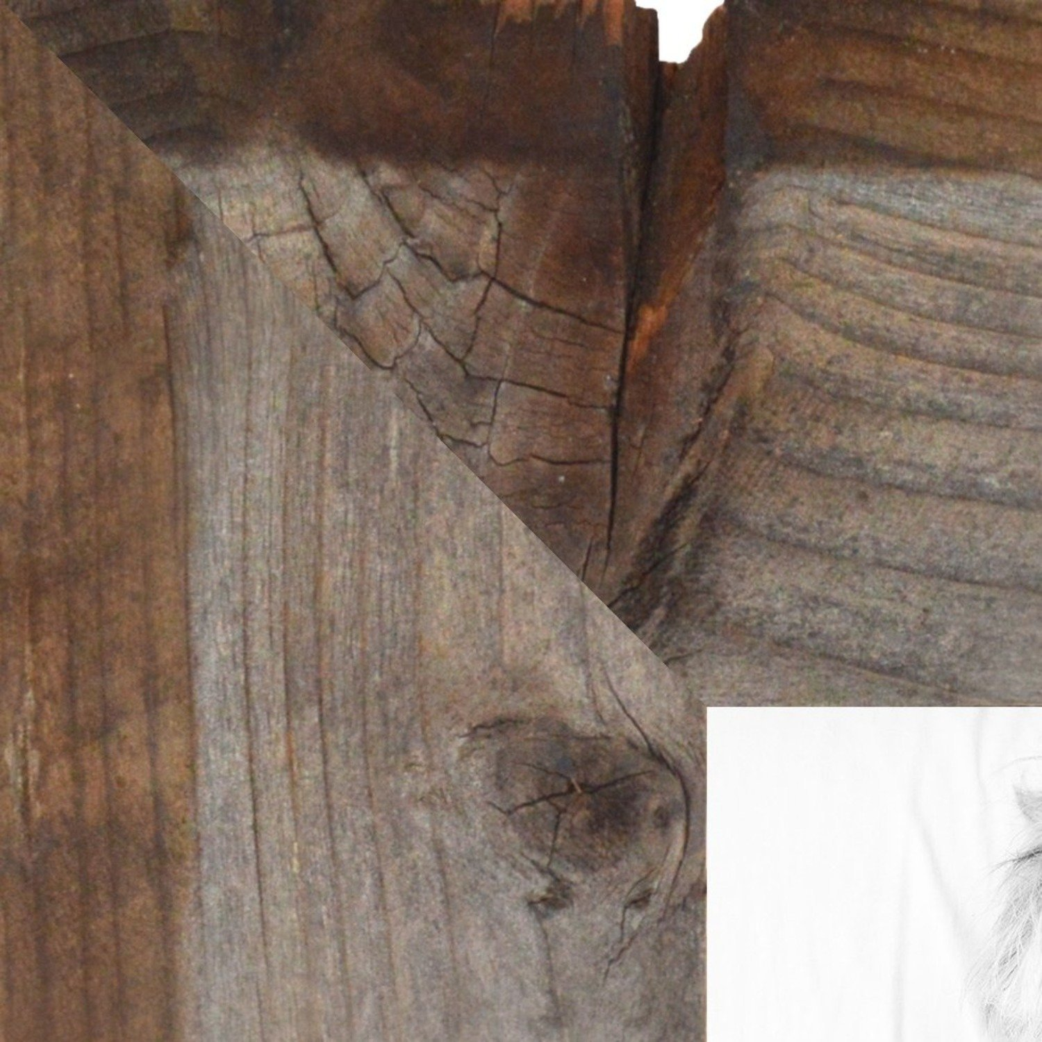 ArtToFrames 24x36 inch 100% Real Reclaimed Barnwood 2.5 Inch Wood Picture Frame, WOMRFB-250-NAT-24x36