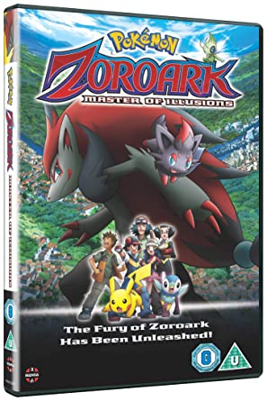 Amazon Com Pokemon Movie 13 Zoroark Master Of Illusions Dvd Movies Tv