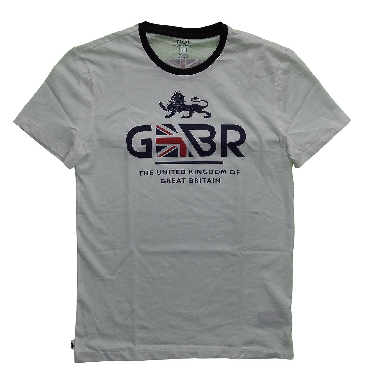 Ralph Lauren City Logo USA Big Pony Shirts Black