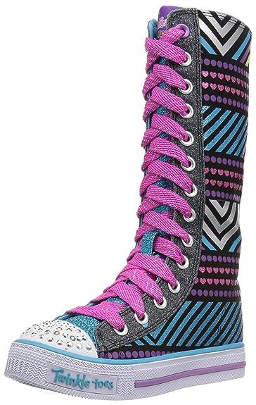 cb200f145ad Amazon.com | Skechers Kids Kids' Shuffles-Tall Tango Sneaker | Sneakers