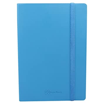 Kevin Danny Leatherette Notebook A5   Blue Composition Notebooks