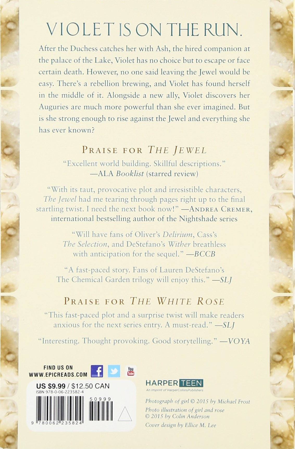 Amazon: The White Rose (lone City Trilogy) (9780062235824): Amy Ewing:  Books