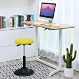 SONGMICS Standing Desk Chair, Adjustable Height