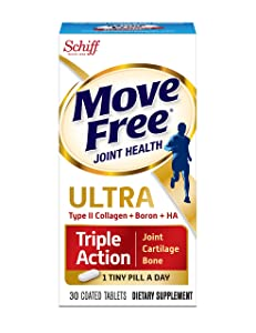 Move Free Ultra Triple Action Joint Supplement Review
