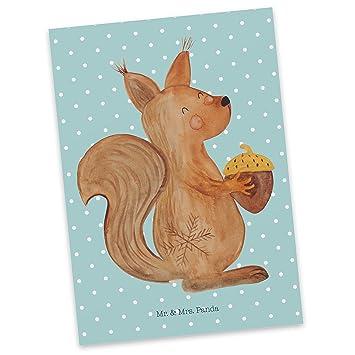 Frohe Weihnachten Spruche Fur Karten.Mr Mrs Panda Postkarte Eichhornchen Weihnachten Frohe