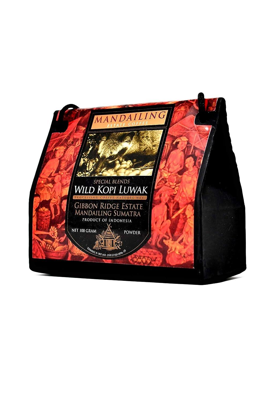 Kopi Luwak Natural (Molido Fino) - El café más raro del ...