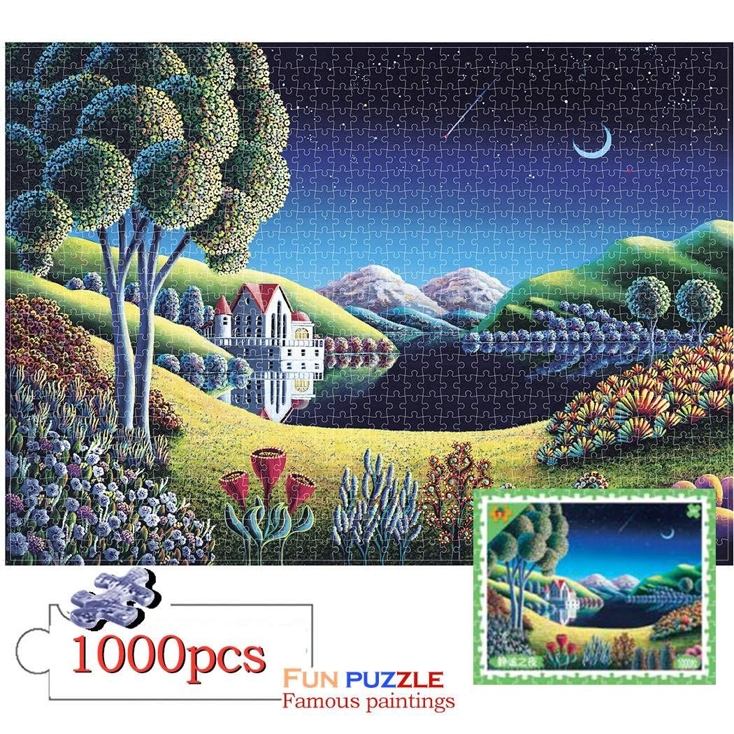 nurrat DIY Beautiful Multicolor Puzzle Toy Stress Reliever Flat Puzzle Pegged Puzzles by nurrat