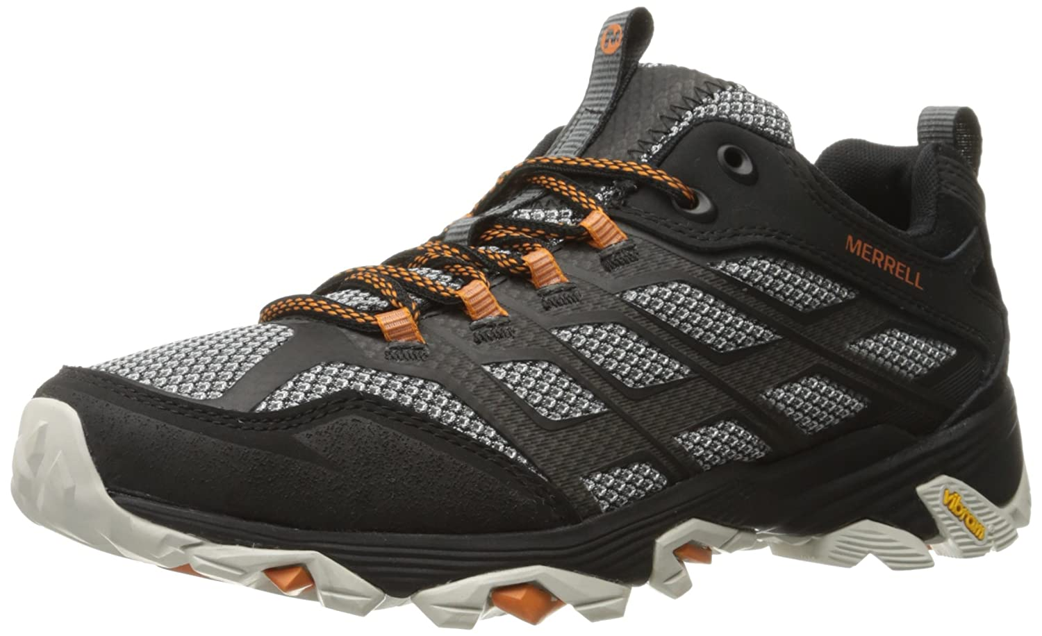 Merrell Men's Moab FST Hiking Shoe B0195L8GQY 7.5 W US|Black