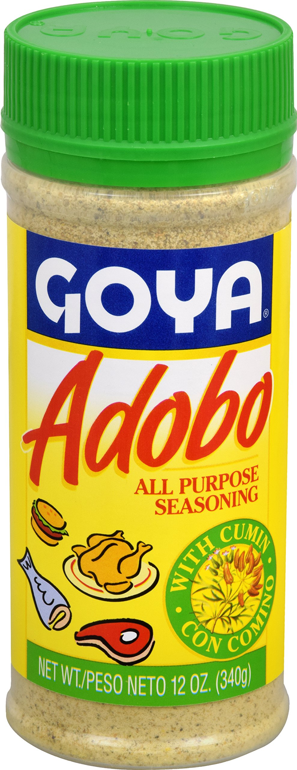 Goya Adobo with Cumin, 12-Ounce Units (Pack of 24)