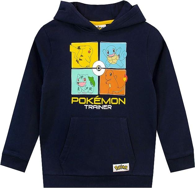Pokémon Sweats à Capuche Garcon: Amazon.fr: