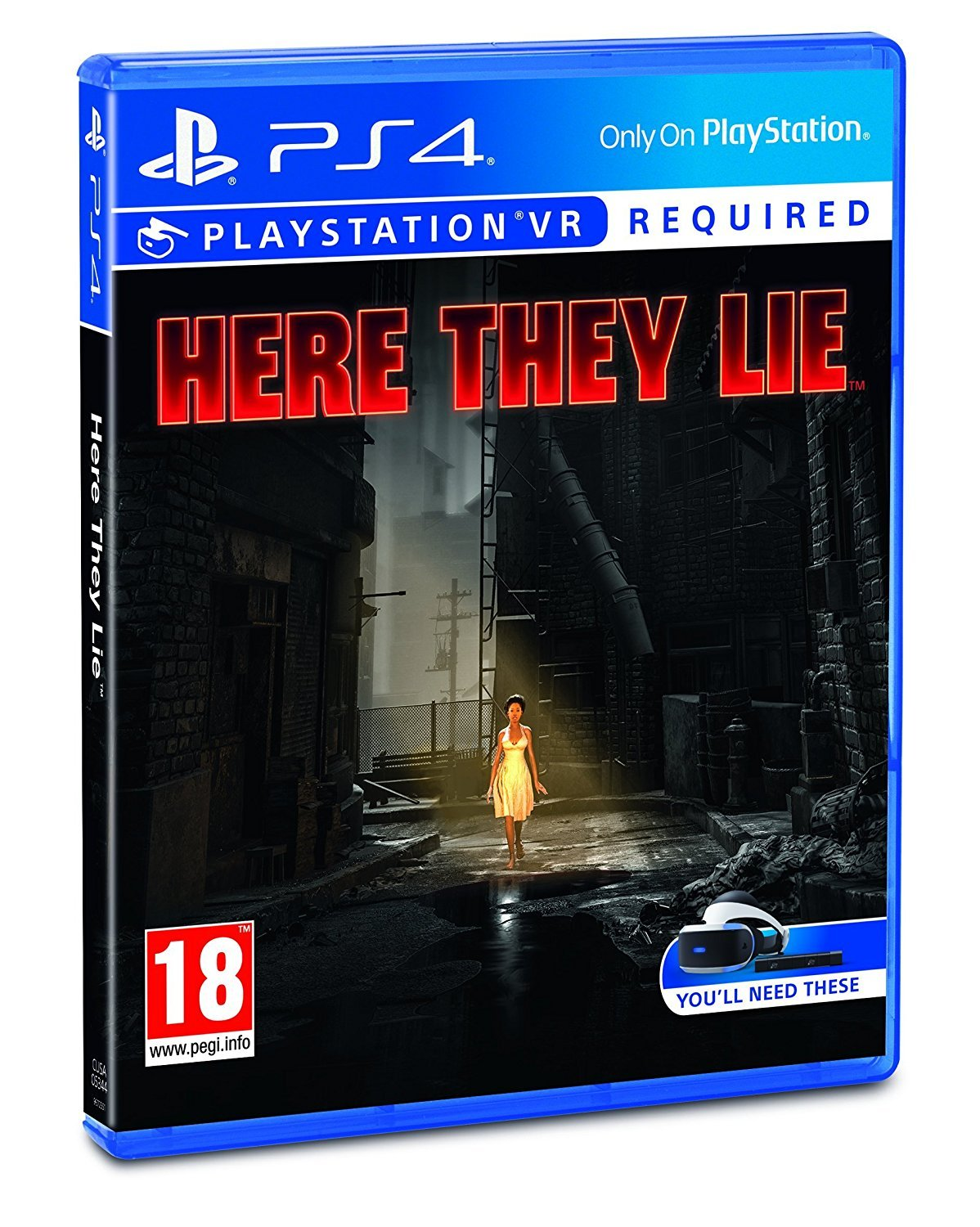 Amazon com: Here They Lie VR (PSVR): Video Games
