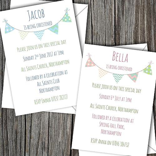 10 personalised boygirl christening invitation cards sbd31 free 10 personalised boygirl christening invitation cards sbd31 free uk delivery stopboris Choice Image