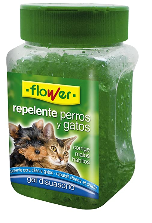 Flower 40564 40564-Repelente Perros y Gatos, 280 g, No No Aplica 6.8x6.4x11.6 cm: Amazon.es: Jardín