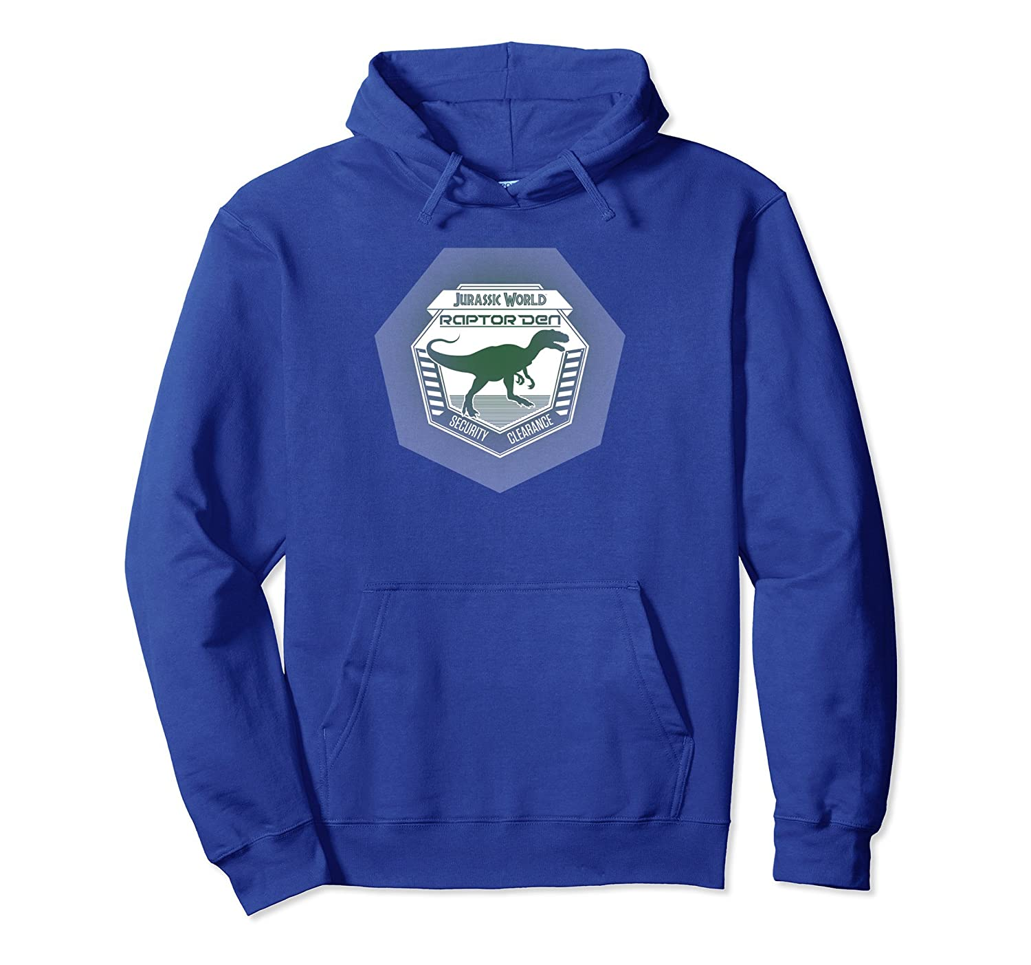 Jurassic World Raptor Den Security Clearance Hoodie-AZP