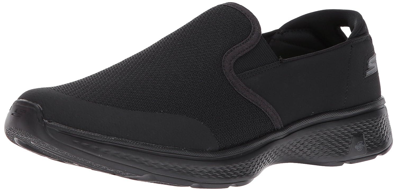 Noir 40 EU Skechers Go Walk 4 - Contain Femmes Toile Chaussure de Marche