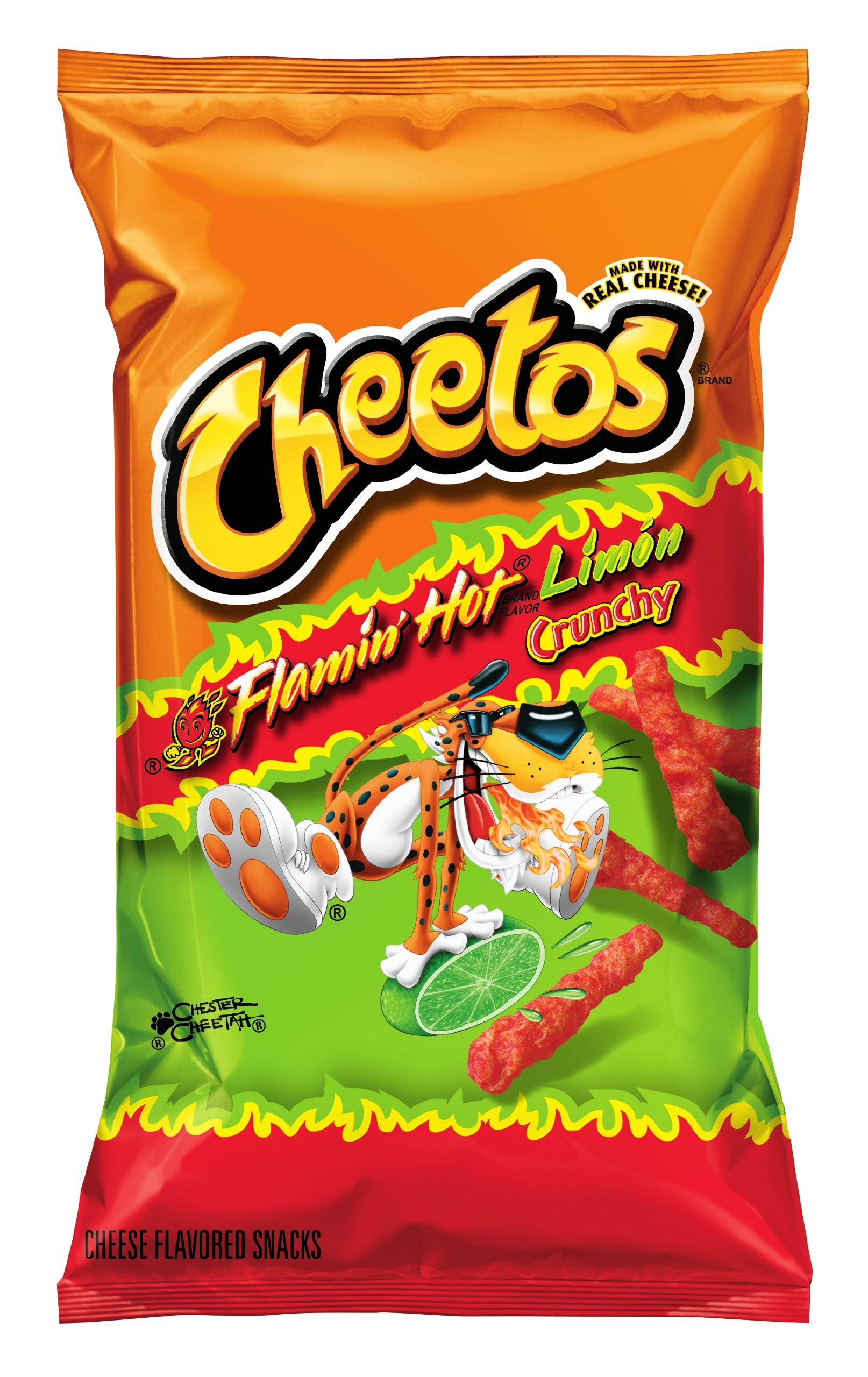 Cheetos Flamin Hot Limon, 8.5 oz