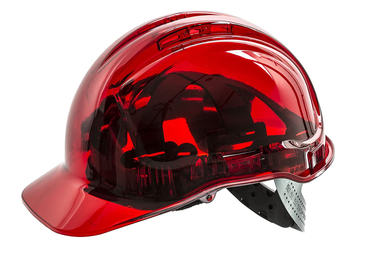 Portwest PV50  Casque de chantier, sdt, orange PV50ORR