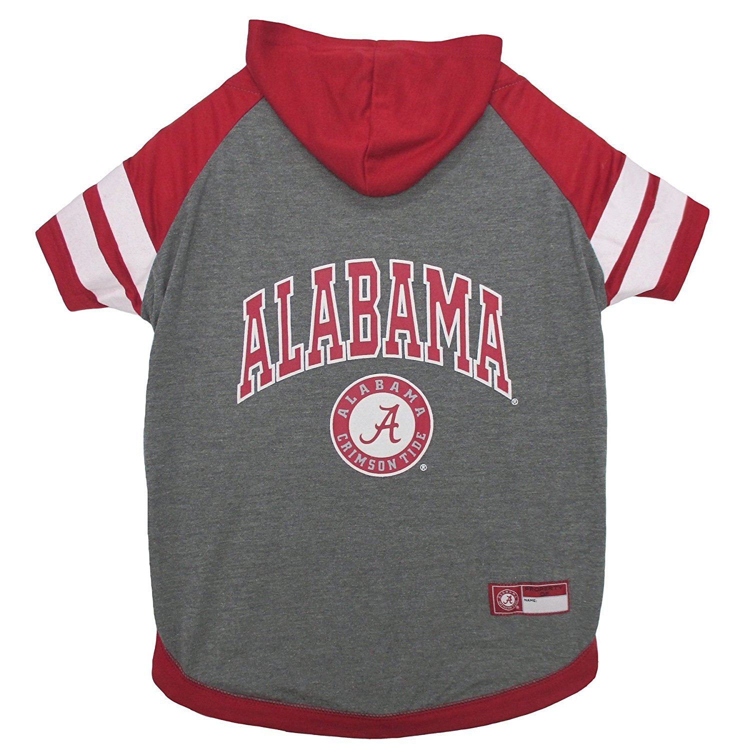 Medium Alabama Crimson Tide NCAA Hoodie Dog Pet Tee T-Shirt (Medium)