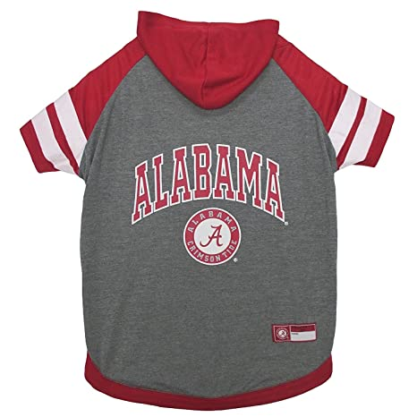 Amazon.com   Alabama Crimson Tide NCAA Hoodie Dog Pet Tee T-Shirt ... 55737cd20