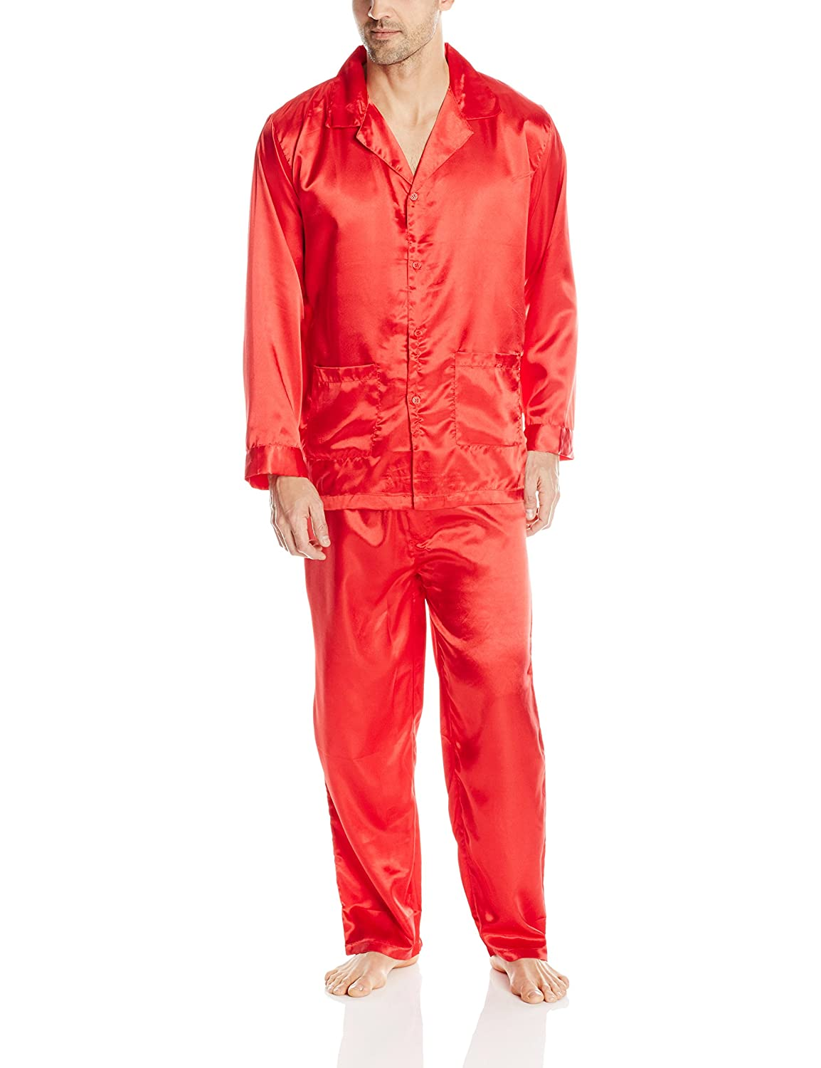 Intimo Men's Satin Pajamas M601007