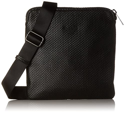 cf6e31678f Armani Jeans Piattina Piccola, Men's Shoulder Bag, Schwarz (Nero ...