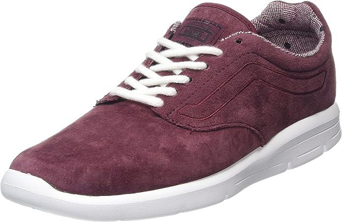 Vans Iso 1.5 Sneakers Unisex Damen Herren Tweed Dots Burgundy Weinrot