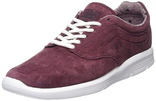 burgundy chaussures hommes vans