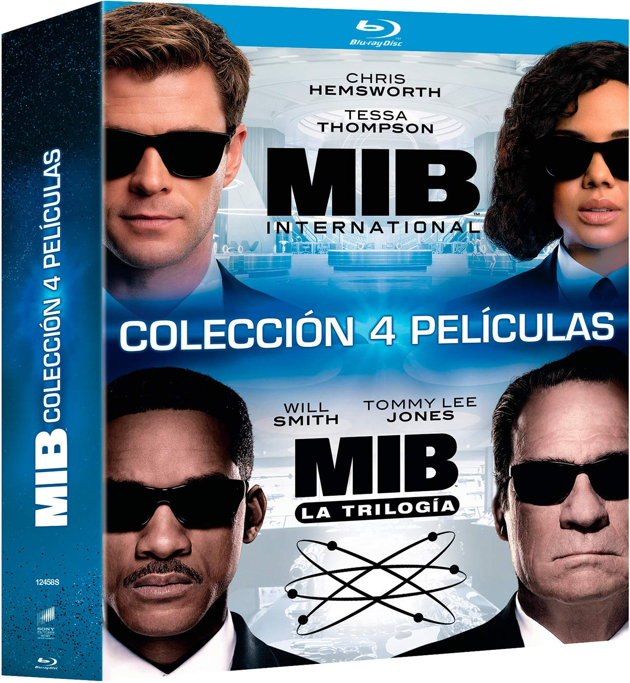 Pack 1 + 2 + 3 + International: Men in Black BD Blu-ray: Amazon.es ...
