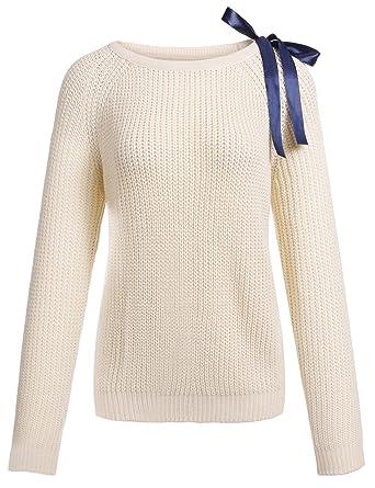 premium selection cdf21 e162b Damen Pullover Winter Casual Long Sleeve Loose Strick ...