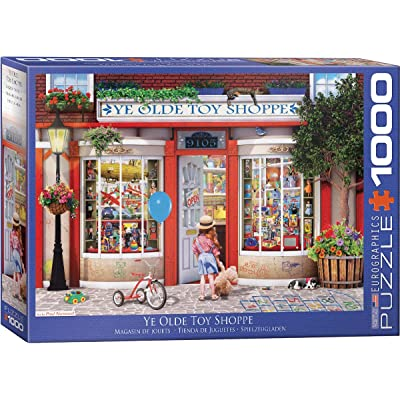 Ye Olde Toy Shoppe by Paul Normand 1000Piece Puzzle: Toys & Games