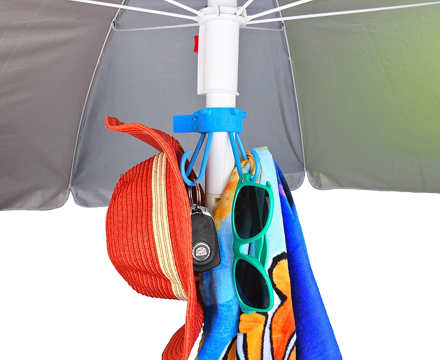 Umbrella Hook for Towels Camera Bags by Pole-R Bear