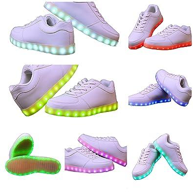 CH Handel Leuchtende LED Schuhe/Sneaker mit Farbwechsel   Sofort Lieferbar