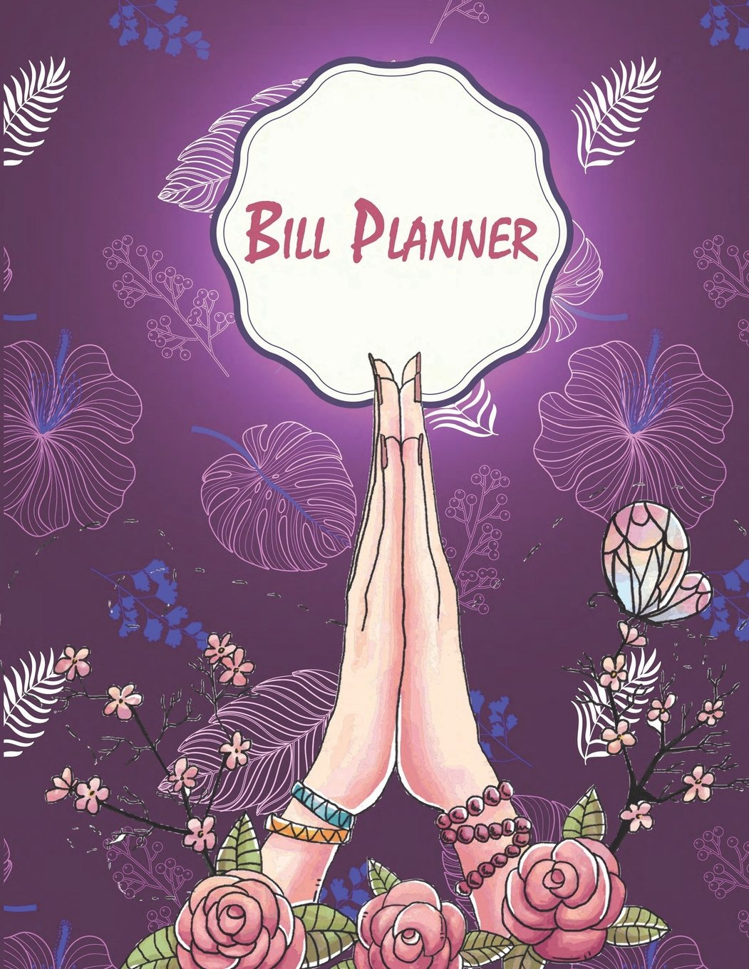 """Bill Planner: Purple colour, Payment Record Tracker Payment Record Book,Daily Expenses Tracker,Manage Cash Going In & Out,Simple Accounting Book 120 Pages 8.5"""" x 11"""" pdf epub"""