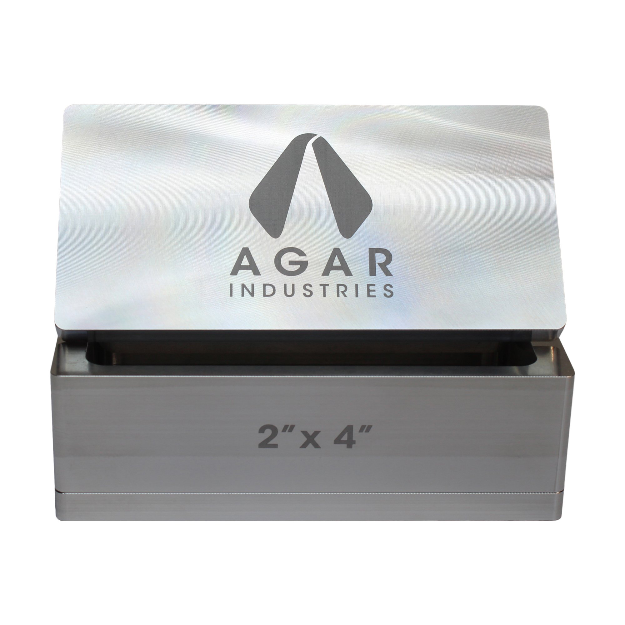 Agar Industries Rosin Pre Press Mold for DIY Solventless Extraction & Pressing - 2'' x 4'' by Agar Industries