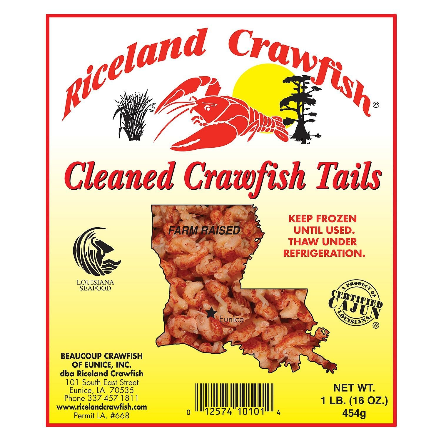 Louisiana Crawfish Tailmeat (5 lbs.) by Riceland Crawfish