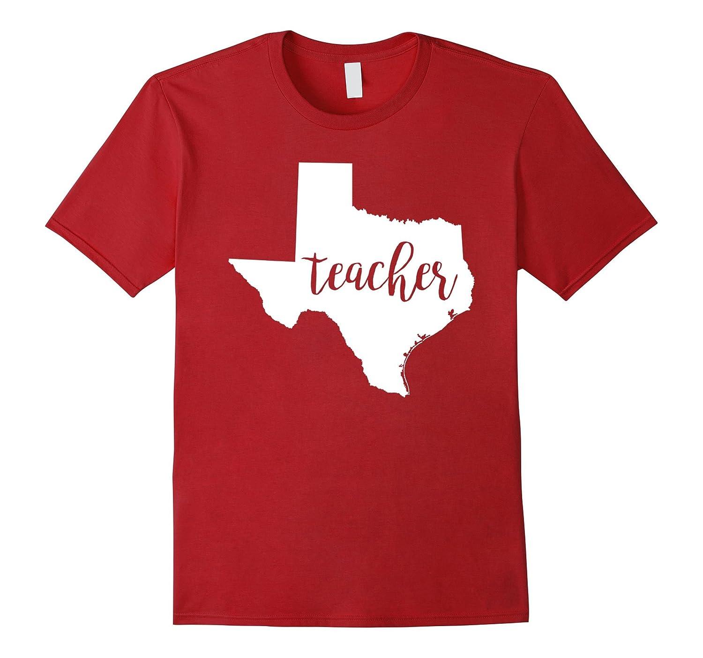 Texas Teacher home state back to school tee shirts-ANZ