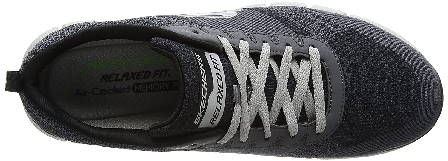 Skechers Herren Equalizer 2.0 True Balance Low-Top Grau (Ccbk)