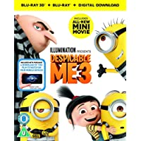 Despicable Me 3 (3D Blu-Ray + 2D Blu-Ray + digital download) [2017]