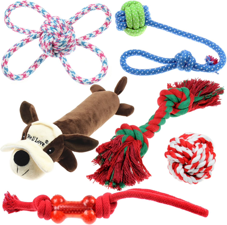 juguetes para masticar,cuerda de algodón100%natural
