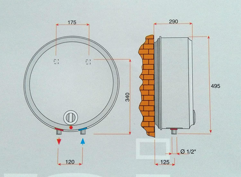 Scaldabagno scaldacqua sopralavello elettrico 30 lt sopra lavello idropi 2 anni ebay - Scaldabagno elettrico rapido ...