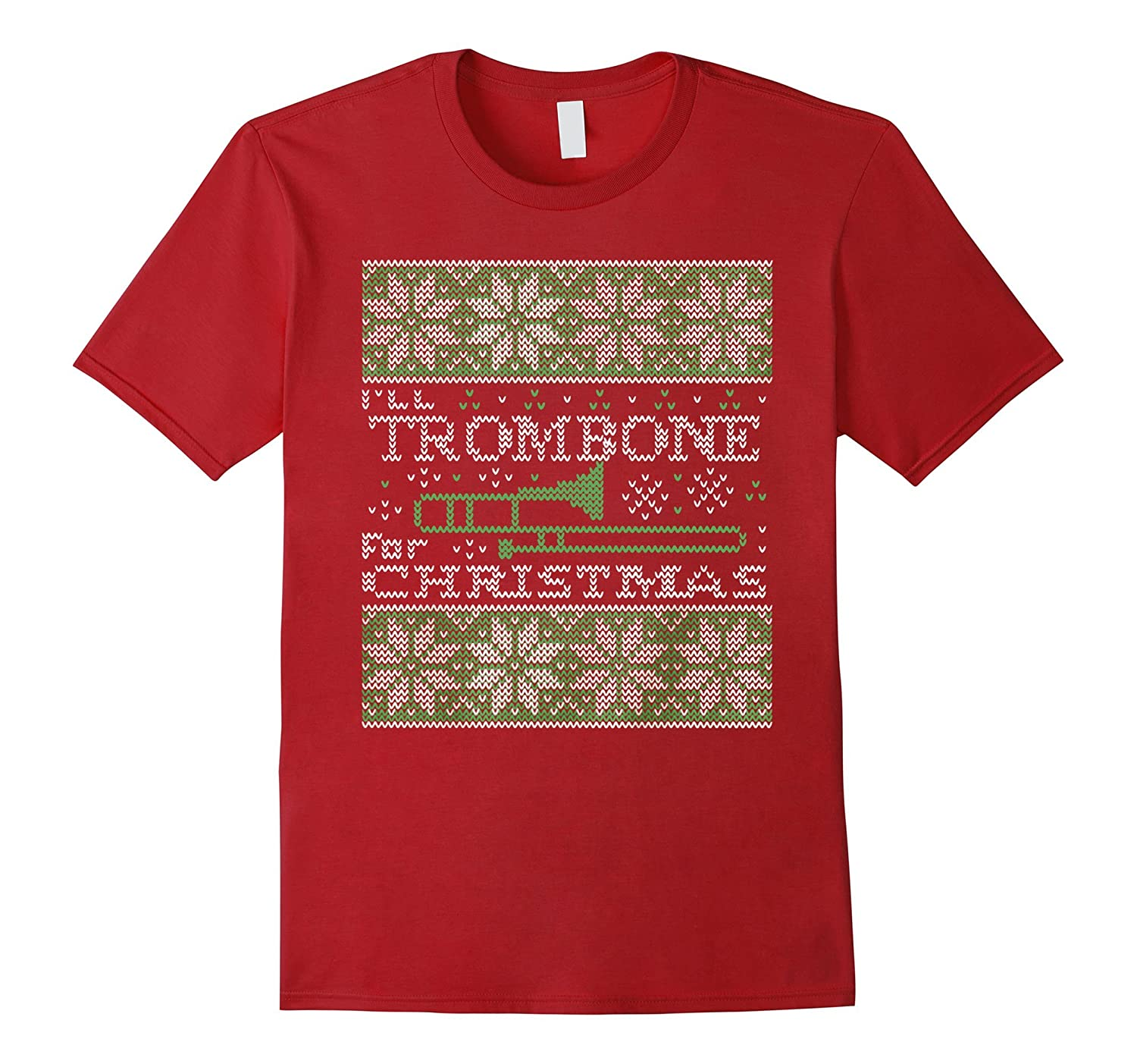 I'll TROMBONE FOR CHRISTMAS SWEATER SHIRT-azvn
