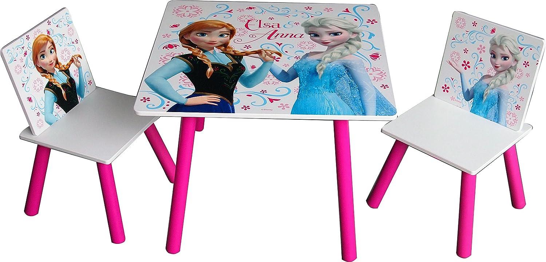 Amazon.com: Frozen – Juego de mesa y 2 sillas de actividad ...