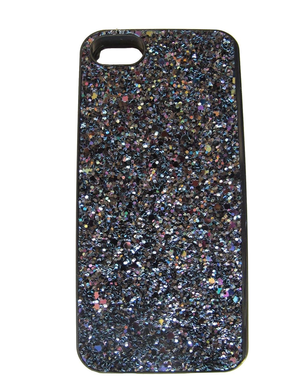 meet b2ab5 aa935 Amazon.com: Victoria's Secret Black Sparkle Hard Case Mirror Card ...