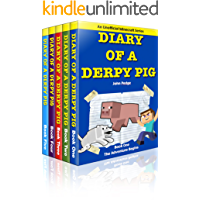 The Derpy Diaries Bundle: Diary of a Derpy Pig Books 1-5 (An Unofficial Minecraft Series)