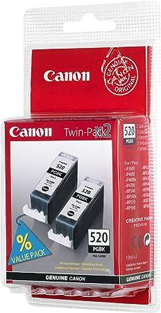 2 X Original Tintenpatronen Pgi 520bk Von Canon Schwarze Tintenpatrone Für Drucker Pixma Mx860 Verpackt Bürobedarf Schreibwaren